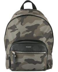 Neil Barrett - Camouflage Print Backpack - Lyst