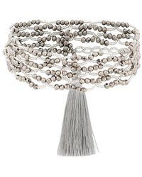 Night Market - Beaded Double String Necklace - Lyst