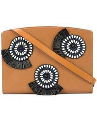 Lizzie Fortunato - Pinwheel Embroidered Shoulder Bag - Lyst