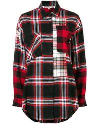 McQ - Tartan Print Shirt - Lyst