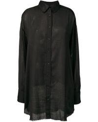 DIESEL - Oversized Shirt - Lyst