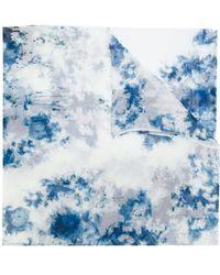 Avant Toi - Tie Dye Print Scarf - Lyst