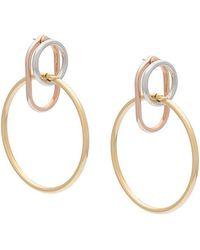 Alexander Wang - Interlocked Earrings - Lyst