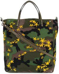 Valentino - Garavani Camouflage Print Shopper Bag - Lyst