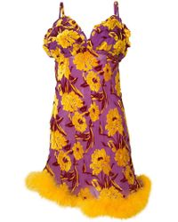 Daizy Shely - Floral Motif Dress - Lyst