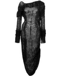 Magda Butrym - Knitted Belem Dress - Lyst