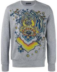 Etro - Floral Print Sweatshirt - Lyst