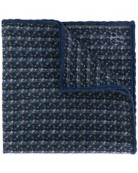 Canali - Checked Scarf - Lyst