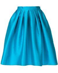 Ultrachic - Full Pleated Skirt - Lyst