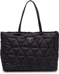Prada - Quilted Tote - Lyst