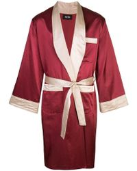 Just Don - Mid-length Boxing Robe - Lyst