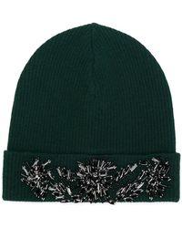 P.A.R.O.S.H. - Beaded Beanie Hat - Lyst