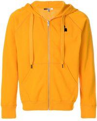Isabel Marant - Printed Logo Zipped Jacket - Lyst