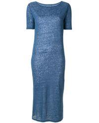 Majestic Filatures - Sheer T-shirt Dress - Lyst