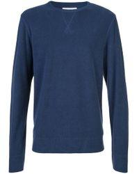 Officine Generale - Crew Neck Sweater - Lyst