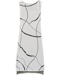 Mara Mac - Midi Knitted Dress - Lyst