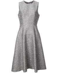 Lela Rose - Flared Dress - Lyst