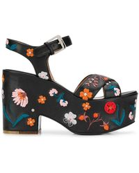 Laurence Dacade - Embroidered Platform Sandals - Lyst