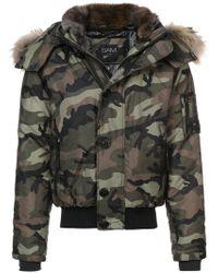 Sam. - Icon Camouflage Bomber Jacket - Lyst