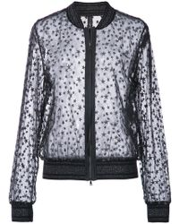 Marc Cain - Embroidered Star Jacket - Lyst