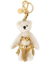 Prada - Bear Charm Keyring - Lyst