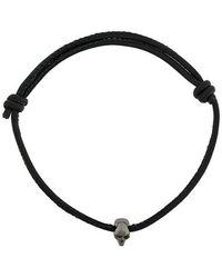 Northskull - Swarovski Crystal Skull Bead Bracelet - Lyst