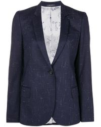 PS by Paul Smith - Classic Single-breasted Blazer - Lyst
