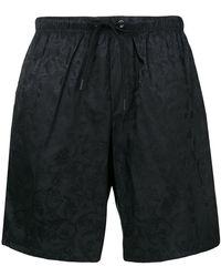Versace - Tonal Brocade Print Sim Shorts - Lyst