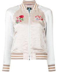 Guild Prime - Embroidered Bomber Jacket - Lyst
