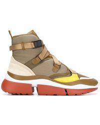 Chloé - Sonnie Sneakers - Lyst
