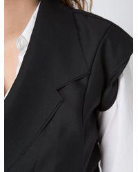Moohong - Layered Short Sleeve Blazer - Lyst