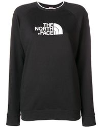 The North Face - Logo Fitted Sweatshirt - Lyst