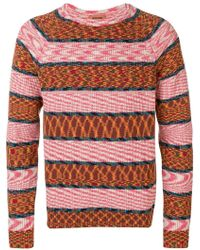 00a8b787b770 Lyst - Gucci Gg Pattern Crewneck Sweater for Men