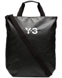Y-3 - Sac cabas à logo imprimé - Lyst