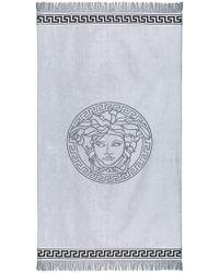 Versace - Serviette de plage Medusa - Lyst