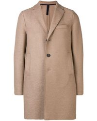 Harris Wharf London - Single-breasted Midi Coat - Lyst