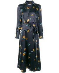 Equipment - Floral Print Dress - Lyst