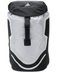 Lyst - adidas By Stella McCartney Zebra-print Buckle-detail Backpack bdd1909e5e5ce