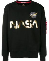 Alpha Industries - Nasa Sweatshirt - Lyst