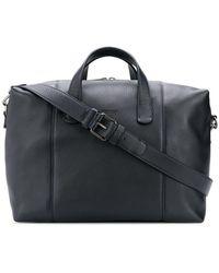 6cbee1dda8 Giorgio Armani Deerskin Leather Weekender Bag in Brown for Men - Lyst