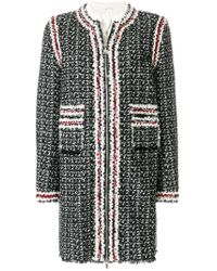 Moncler Gamme Rouge - Panelled Coat - Lyst