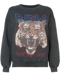 Anine Bing - Sweatshirt mit Tiger-Print - Lyst