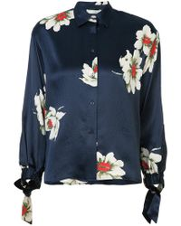Vince - Gardenia Floral Blouse - Lyst