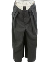 Moohong - Deconstructed Panelled Trousers - Lyst
