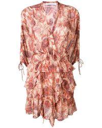 IRO - Pristine Ruffle Dress - Lyst