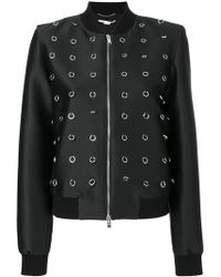 Stella McCartney - Silver-tone Loop Jacket - Lyst