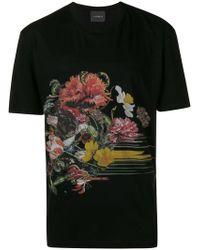 John Richmond - Printed T-shirt - Lyst