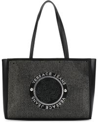 Versace Jeans - Studded Tote Bag - Lyst