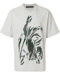 Y. Project - Abstract Graphic T-shirt - Lyst