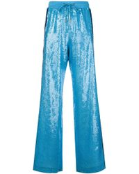 Alberta Ferretti - Rainbow Week Track Trousers - Lyst